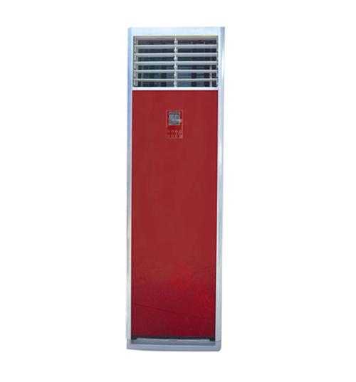 新款中国红柜式水空调